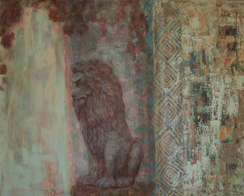 GUARDIAN II, acrylic and oil on canvas, 90 x 120 cm, 2011